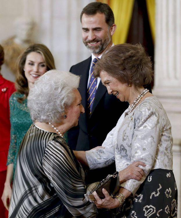 Foto: La infanta Pilar y la reina Sofía. (EFE)