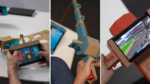 Probamos Nintendo Labo: el videojuego más revolucionario en años está hecho de cartón
