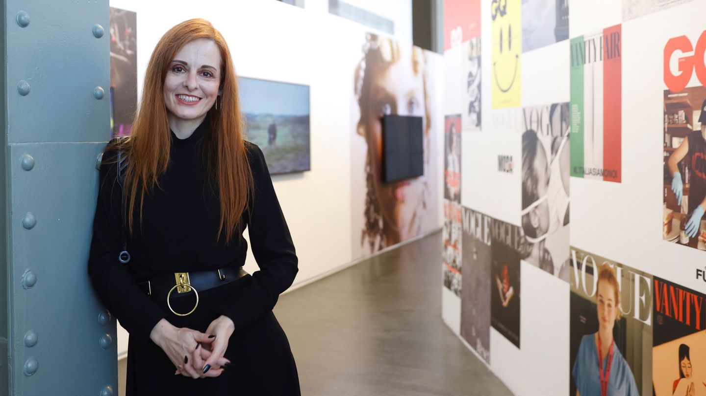 Ana Locking, en una de sus exposiciones fotográficas. (EFE)