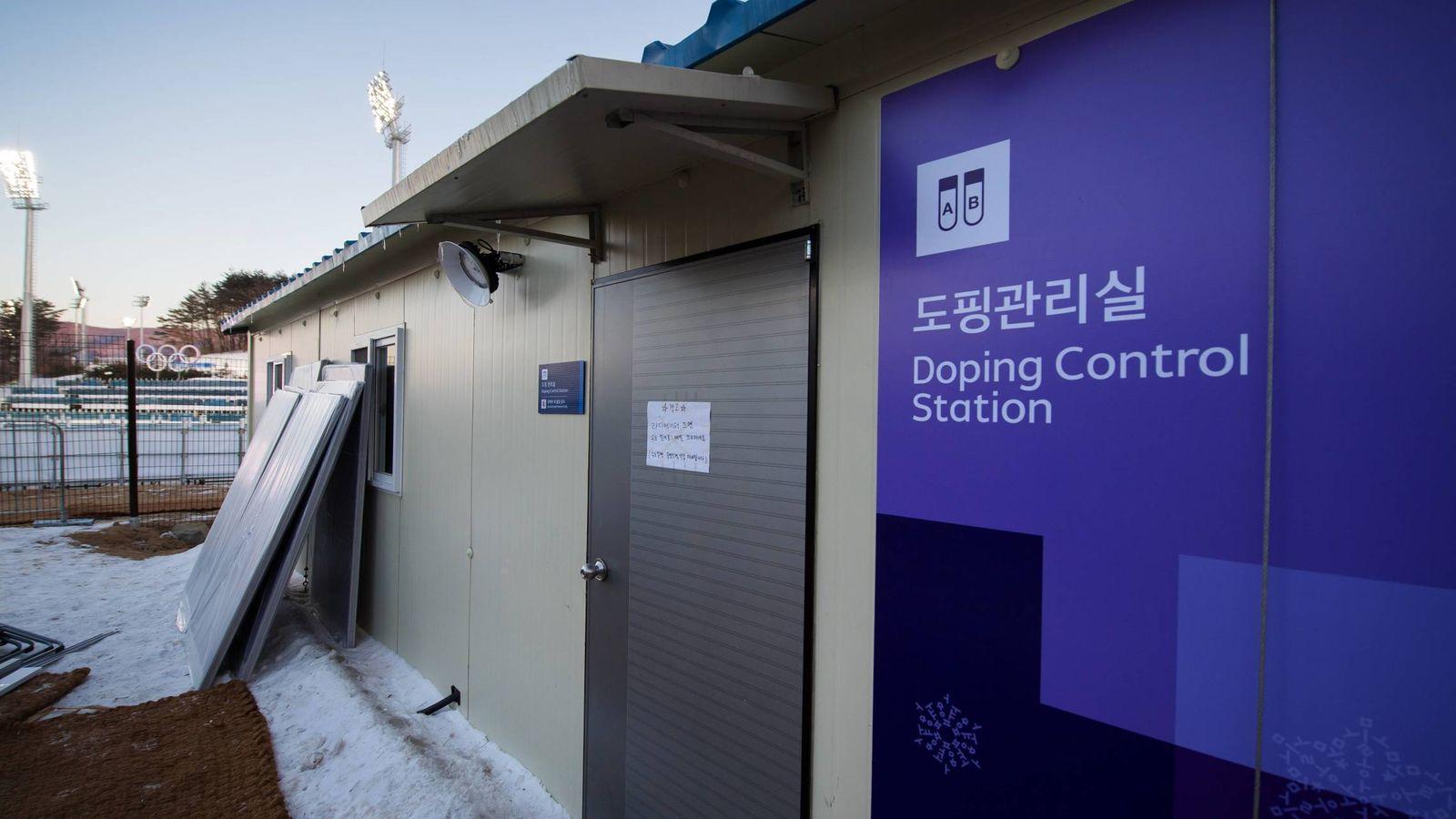 Foto: Imagen de un centro de realización de controles antidopaje en los Juegos Olímpicos de Pyeongchang. (Imago)