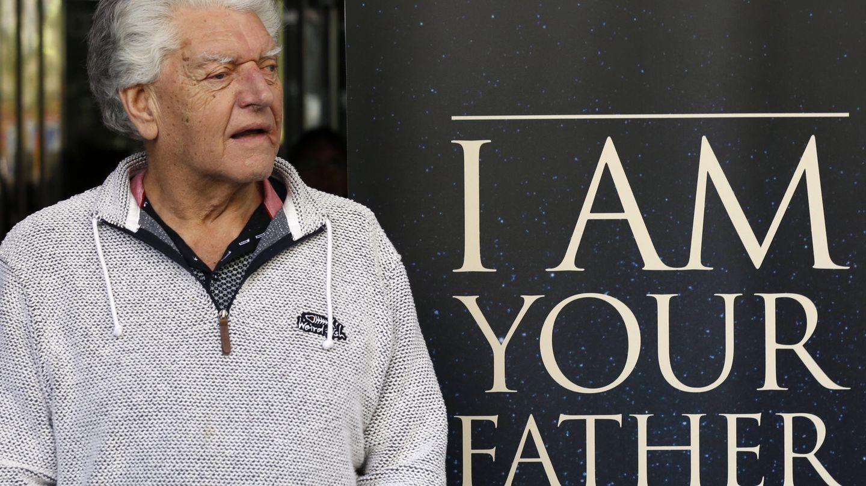 David Prowse durante la presentación del documental 'I am your father', que desvela su rostro y su oscura historia. (EFE)
