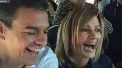 Susanna Griso inaugura el Periscope del PSOE piropeando a Pedro Sánchez