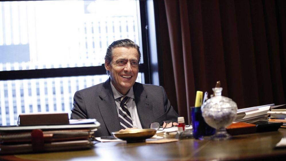Foto: Germán, en una imagen reciente en su despacho del Paseo de la Castellana.