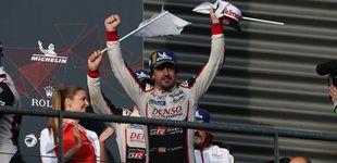 Post de WEC | Fernando Alonso, con el Mundial en el bolsillo tras vencer en las 6 Horas de Spa