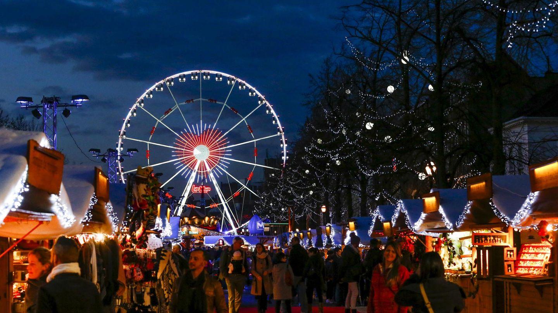 Mercadillo navideño de Bruselas (Reuters)