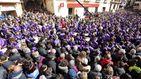 2.000 tambores llenan de ruido Calanda (Teruel) durante 24 horas