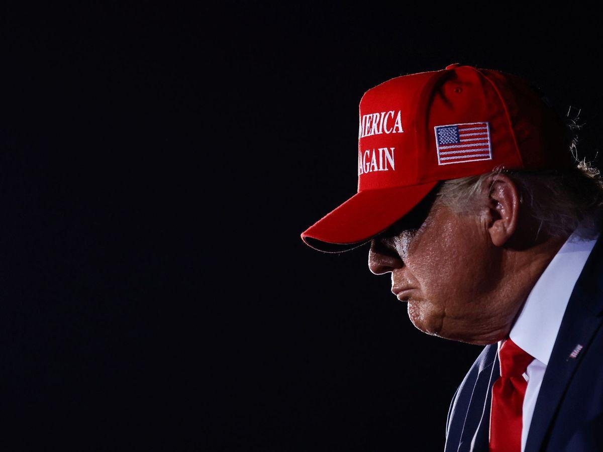 Foto: Donald Trump, este fin de semana. (Reuters)