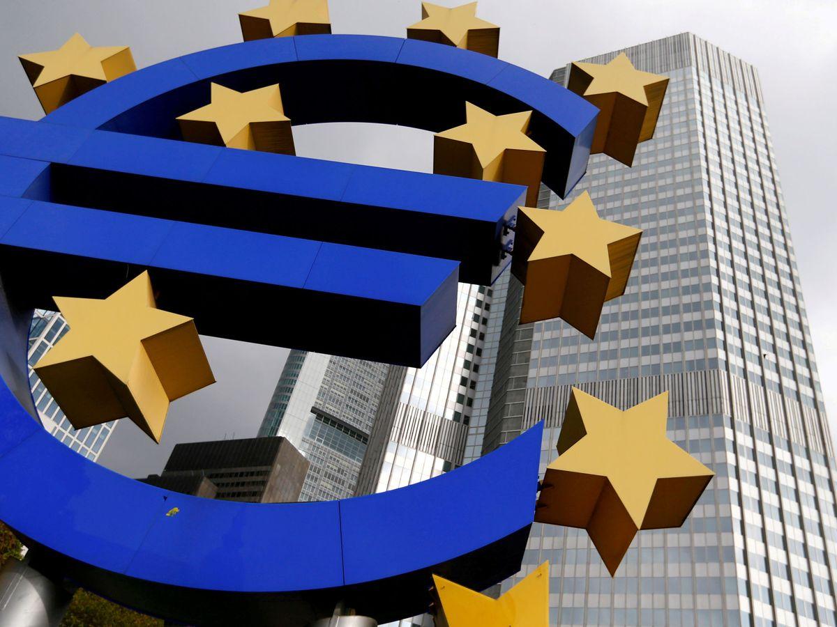 Foto: El Banco Central Europeo. (Reuters)
