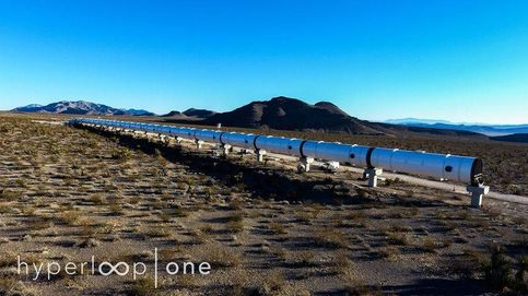 La primera pista de pruebas de Hyperloop en Estados Unidos toma forma