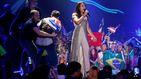 El espontáneo del 'calvo' en Eurovisión podría recibir hasta 5 años de cárcel