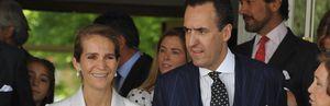 Foto: Marichalar, agradecido con la infanta Elena por cómo se portó tras el accidente de Froilán
