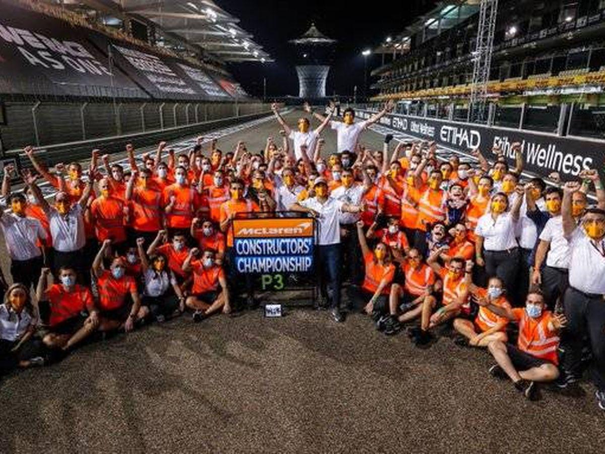 Foto: McLaren lograba un inesperado tercer puesto final en 2020 que puede defender en 2021
