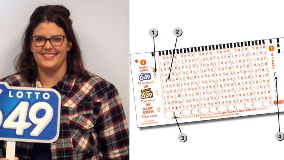 Foto: Erin Taefu ganó un millón a la lotería aunque tardó varios meses en darse cuenta (Foto: WCLC)