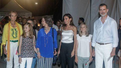 El rey Felipe recupera la imagen más familiar en Palma contra los fantasmas