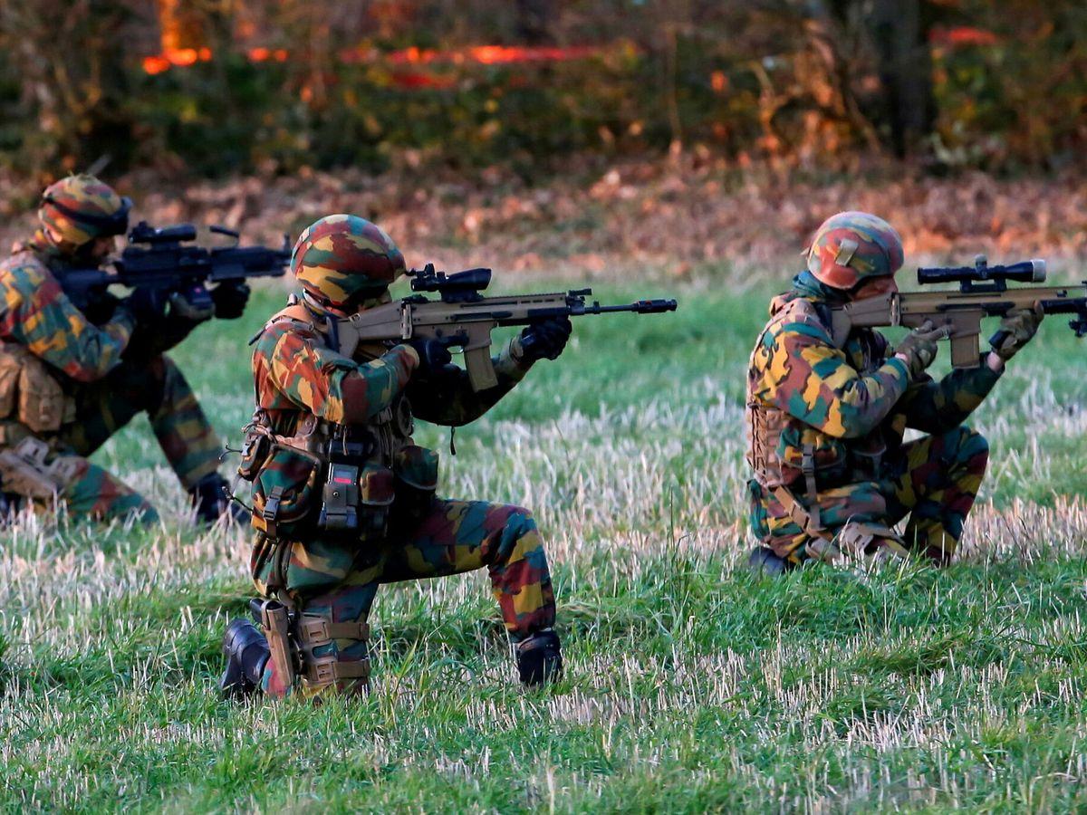 Foto: Fuerzas especiales belgas durante un ejercicio militar en 2016. (Reuters)