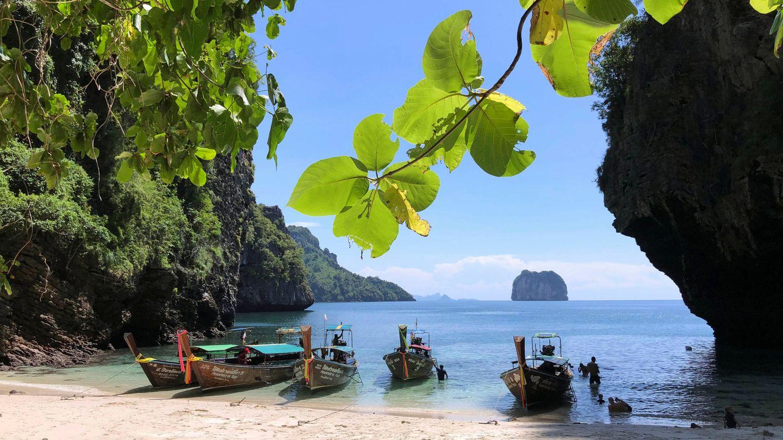 La isla de Koh Poda, cerca de Krabi, en Tailandia (Reuters)