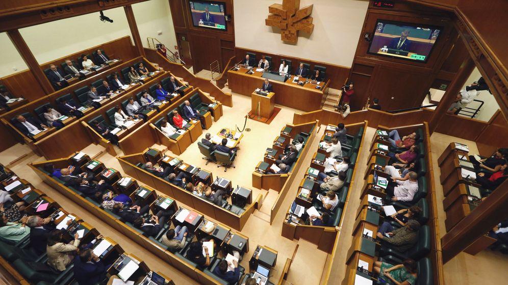 Foto: Fotografía del Parlamento Vasco. (EFE)