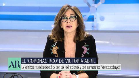 Ana Rosa Quintana, alucinada con la teoría del coronacirco de Victoria Abril