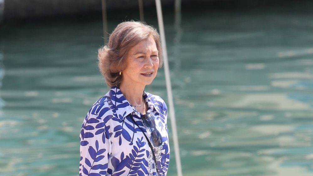 Foto: La reina Sofía en Mallorca en una imagen de archivo. (Gtres)