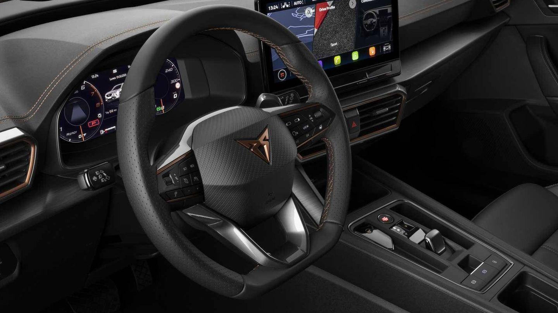 Esta versión de acceso no incluye el volante con botones de arranque y selector de modos de conducción.