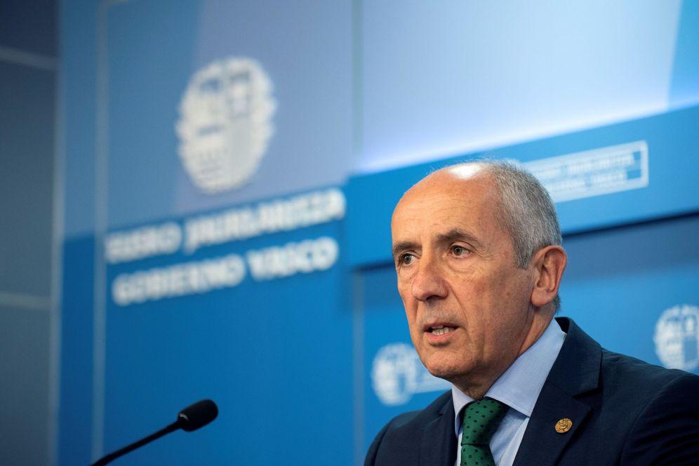 Foto: El portavoz del Gobierno vasco y consejero de Gobernanza Pública y Autogobierno, Josu Erkoreka. (EFE)