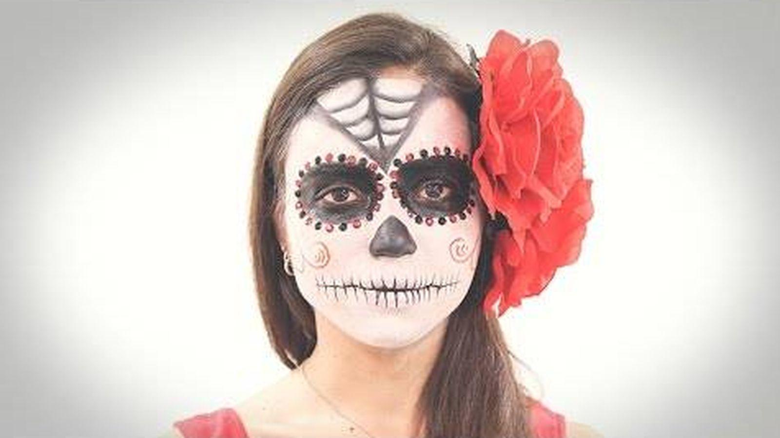 Halloween: Tutorial de maquillaje: disfrázate de Catrina y serás la ...