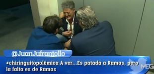 Post de Susto en 'El Chiringuito': Rafa abandona el plató por un fuerte dolor en el pecho