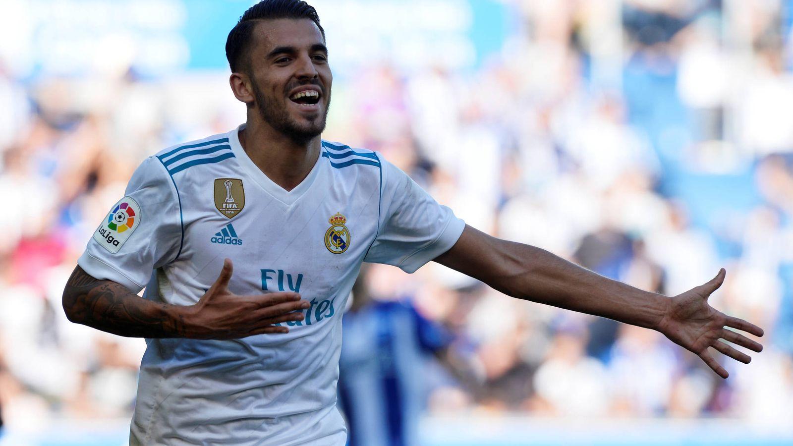 Foto: Ceballos, jugando con el Real Madrid. (Reuters)