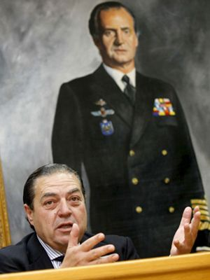 Foto: Vicente Boluda: Zapatero es Alicia en el País de las Maravillas