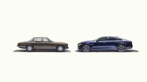 La berlina británica cumple 50 años con el clásico Jaguar XJ