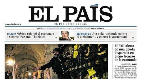 El 'asalto' al Parlament acapara las portadas de la prensa tras el 1-O