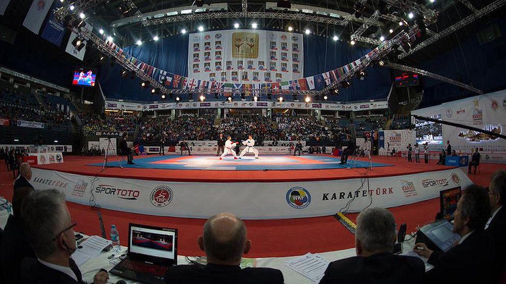 Dos oros y cinco bronces para España en el Campeonato de Europa de kárate