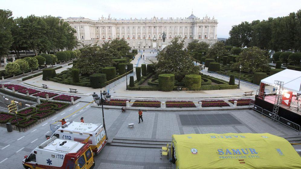 Foto: Vista general del Palacio Real.