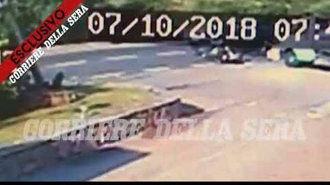 El vídeo del accidente en moto de George Clooney en Cerdeña que pudo acabar en tragedia