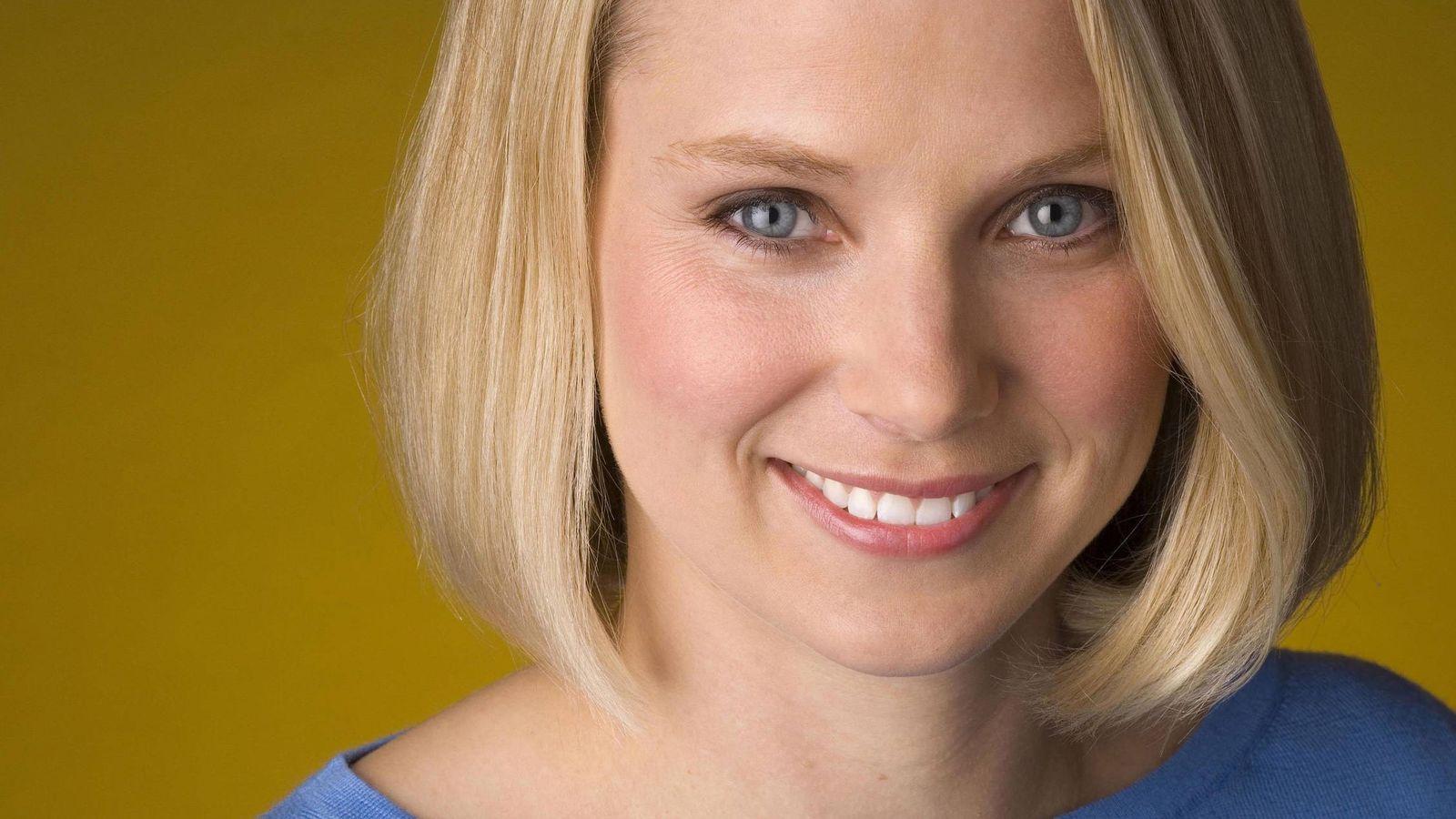 Foto: Marissa Mayer, CEO de Yahoo