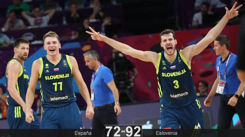 España sucumbe ante una gran Eslovenia que jugará por el oro contra Serbia