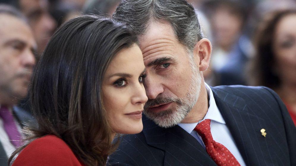 Foto:  Felipe y Letizia, en una imagen de archivo. (Getty)
