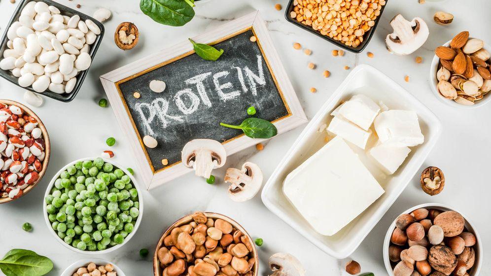 verduras con mayor contenido de proteinas