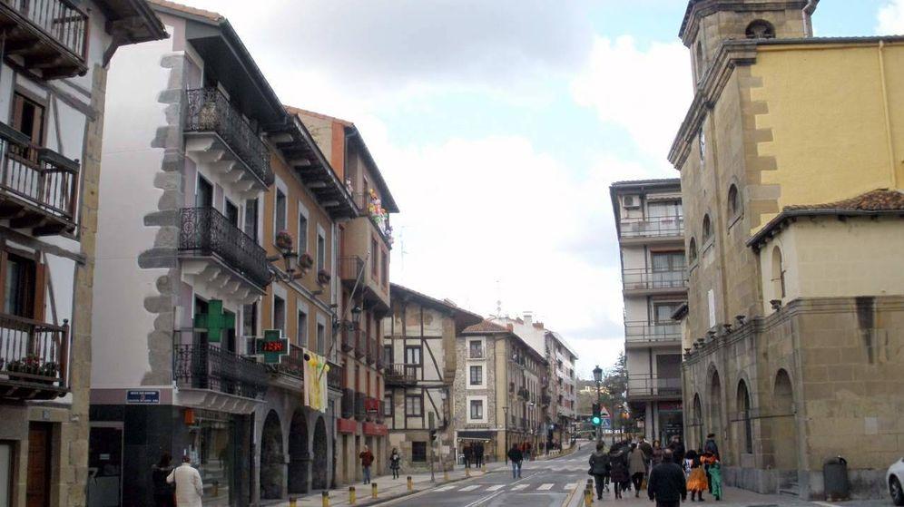 Foto: Una de las calles de Lasarte. (Foto: Zarateman. Wikipedia)