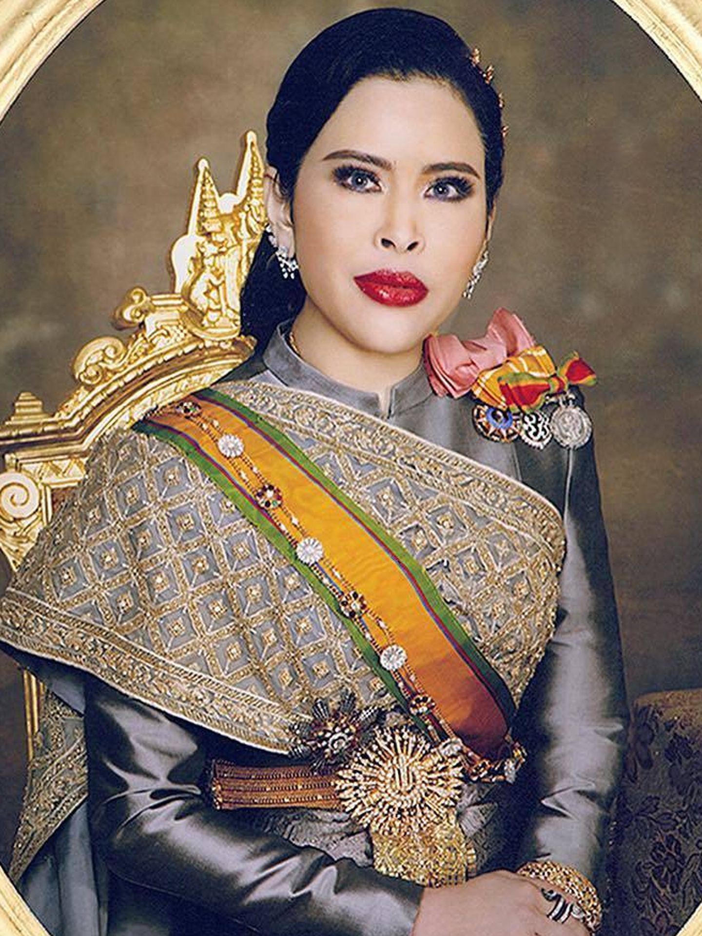 Retrato de la princesa Chulabhorn de Tailandia. (IG thairoyalfamily)