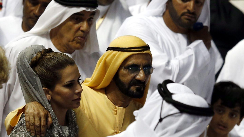 La princesa Haya de Hordania y el emir de Dubái en una imagen de archivo. (EFE)
