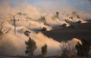 Hamás se infiltra en Israel en plena ofensiva terrestre contra Gaza
