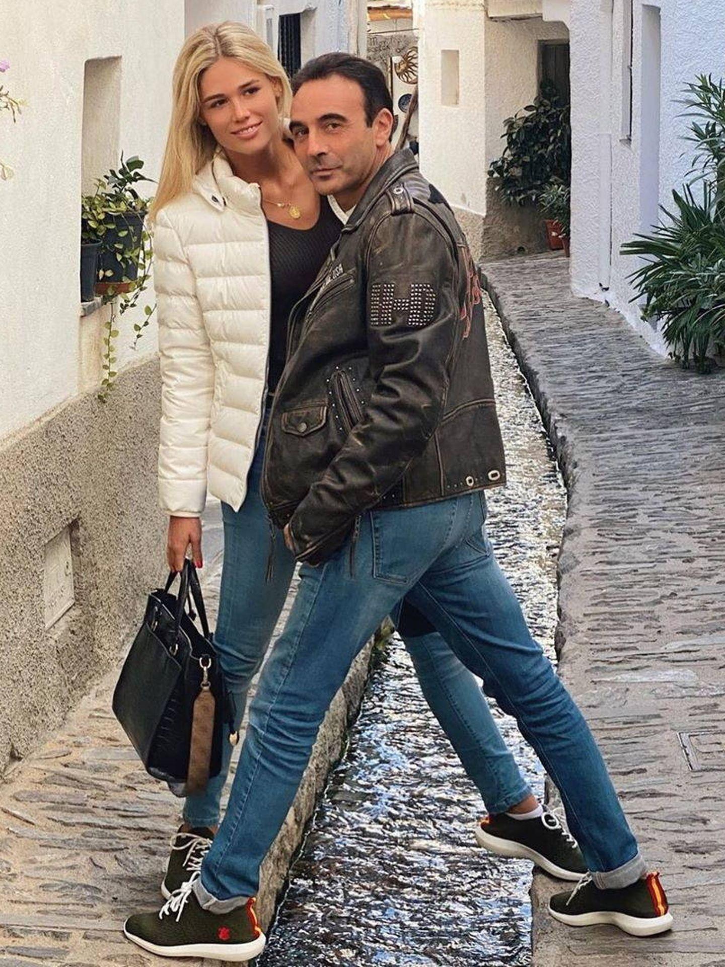 Enrique Ponce y Ana Soria. (Redes)