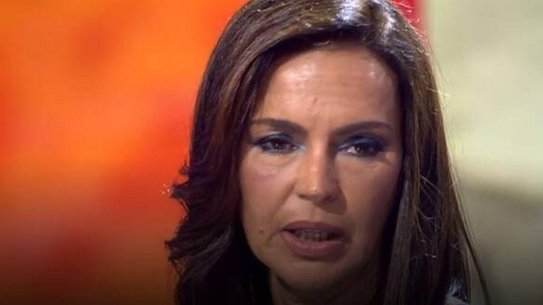 Olga, en otro momento del programa. (Mediaset)