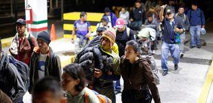 Post de Una nueva caravana de migrantes hondureños parte hacia EEUU