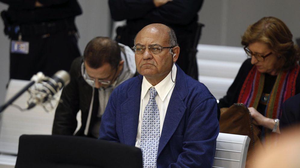 Foto: Gerardo Díaz Ferrán, durante el juicio por el vaciamiento de la caja de Marsans. (EFE)