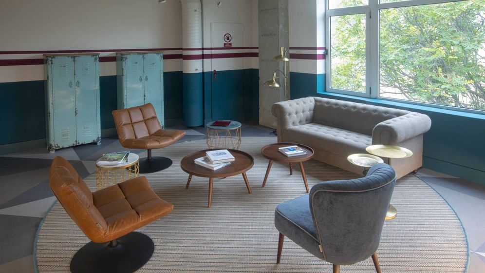 Foto: Las salas de reuniones se inspiran en la estética industrial. (El Corte Inglés)
