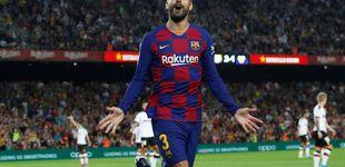 Post de Gerard Piqué y el control que tiene dentro del FC Barcelona