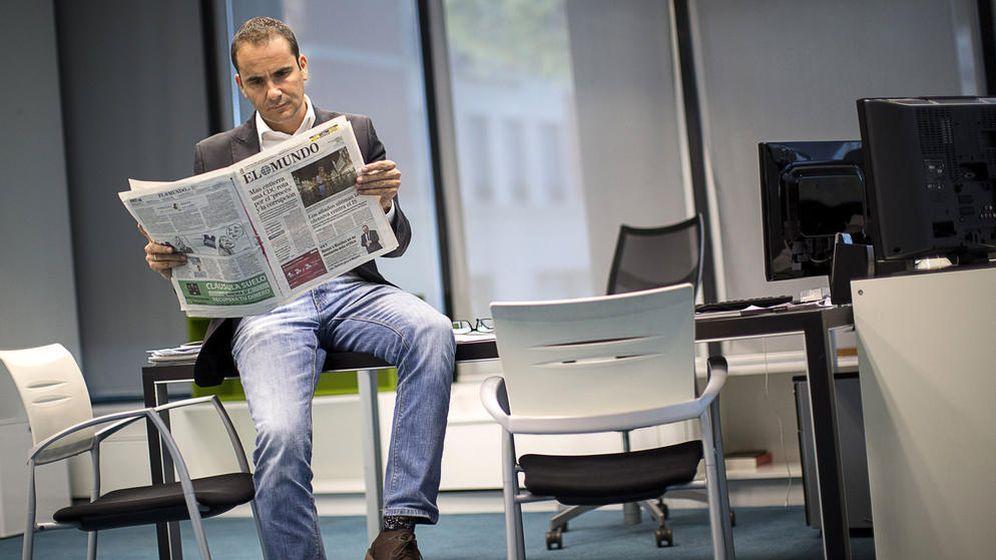 Foto: El director del diario 'El Mundo', David Jiménez. (EFE)