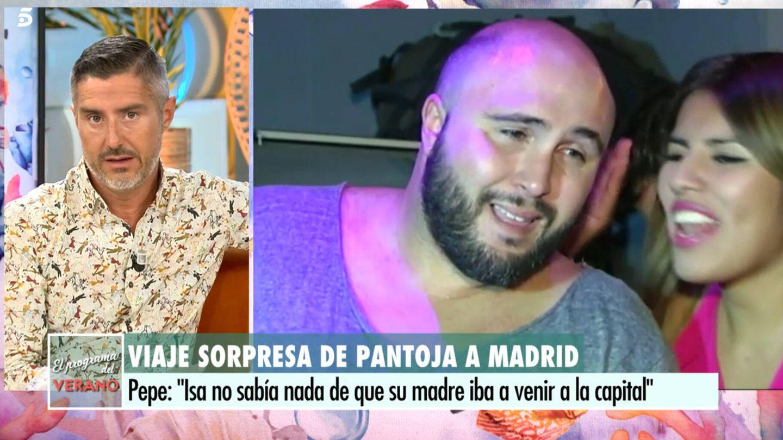 Pepe del Real, en 'El programa del verano'. (Telecinco)